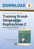 Training Grundfähigkeiten: Kopfrechnen 2 Preview 1