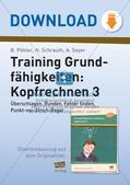 Training Grundfähigkeiten: Kopfrechnen 3 Preview 1