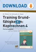 Training Grundfähigkeiten: Kopfrechnen 4 Preview 1