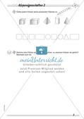 Geometrische Körper: Differenzierte Übungsmaterialien Preview 11