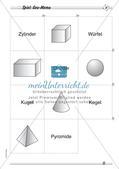 Geometrische Körper: Differenzierte Übungsmaterialien Preview 14
