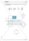 Geometrische Körper: Differenzierte Übungsmaterialien Preview 15