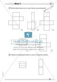 Geometrische Körper: Differenzierte Übungsmaterialien Preview 17