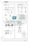 Geometrische Körper: Differenzierte Übungsmaterialien Preview 18