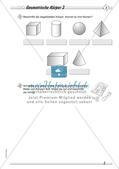 Geometrische Körper: Differenzierte Übungsmaterialien Preview 5