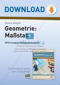 Mathematik_neu, Primarstufe, Raum und Form, Abbildungen, Maßstäbe, Verkleinern und Vergrößern, Zeichnen, Quadrate vergrößern, Quadrate verkleinern, eigenes Quadrat zeichnen, Rechteck vergößern, Rechteck verkleinern