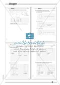 Umfang und Flächeninhalt: Differenzierte Übungsmaterialien Preview 12