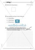 Umfang und Flächeninhalt: Differenzierte Übungsmaterialien Preview 3