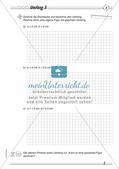Umfang und Flächeninhalt: Differenzierte Übungsmaterialien Preview 5
