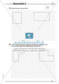Umfang und Flächeninhalt: Differenzierte Übungsmaterialien Preview 7
