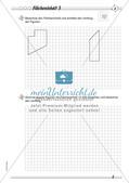 Umfang und Flächeninhalt: Differenzierte Übungsmaterialien Preview 8