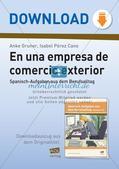 Themenspezifischen Wortschatz aufbauen: Handelskaufmann Preview 1