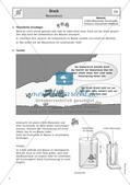 Physik selbst entdecken: Mechanik - Druck Preview 5