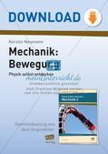 Physik selbst entdecken: Mechanik - Bewegung Preview 1
