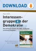 Interessengruppen in der Demokratie Preview 1
