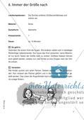 Bewegter Unterricht: Zahlen & Operationen und Raum & Form Preview 10