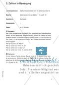 Bewegter Unterricht: Zahlen & Operationen und Raum & Form Preview 7