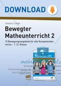 Bewegter Unterricht: Zahlen & Operationen, Raum & Form und Größen & Messen Preview 1