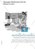 Bewegter Unterricht: Zahlen & Operationen Preview 3