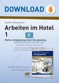 Mathe im Berufsalltag/Gastgewerbe: Übernachtungspreise berechnen Preview 1
