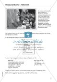 Mathe im Berufsalltag/Gastgewerbe: Nährwerte berechnen Preview 3