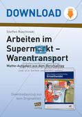 Mathe im Berufsalltag/Einzelhandel: Warentransporte optimieren Preview 1
