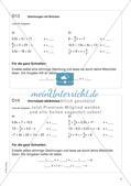 Freiarbeit: Terme und Gleichungen Preview 10