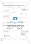 Freiarbeit: Terme und Gleichungen Preview 5