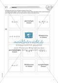 Freiarbeit: Geometrische Flächen Preview 4