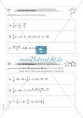 Freiarbeit: Gleichungen und Formeln Preview 7