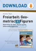 Freiarbeit: Geometrische Figuren Preview 1