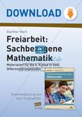 Sachbezogene Mathematik Preview 1