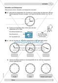 Messen und Größen: Zeit Preview 3