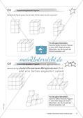 Geometrische Figuren und Beziehungen: Materialien in zwei Differenzierungsstufen Preview 10