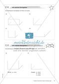 Geometrische Figuren und Beziehungen: Materialien in zwei Differenzierungsstufen Preview 12