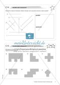 Geometrische Figuren und Beziehungen: Materialien in zwei Differenzierungsstufen Preview 13
