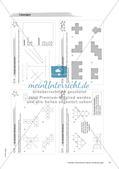Geometrische Figuren und Beziehungen: Materialien in zwei Differenzierungsstufen Preview 18