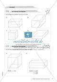 Geometrische Figuren und Beziehungen: Materialien in zwei Differenzierungsstufen Preview 19