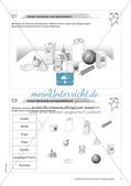 Geometrische Figuren und Beziehungen: Materialien in zwei Differenzierungsstufen Preview 6