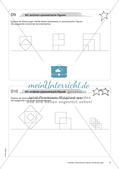 Koordinatensystem und Achsenspiegelung: Materialien in zwei Differenzierungsstufen Preview 10