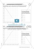 Koordinatensystem und Achsenspiegelung: Materialien in zwei Differenzierungsstufen Preview 11