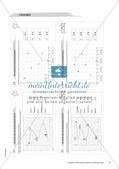 Koordinatensystem und Achsenspiegelung: Materialien in zwei Differenzierungsstufen Preview 12