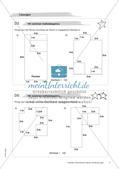 Koordinatensystem und Achsenspiegelung: Materialien in zwei Differenzierungsstufen Preview 13
