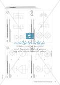 Koordinatensystem und Achsenspiegelung: Materialien in zwei Differenzierungsstufen Preview 14