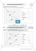 Koordinatensystem und Achsenspiegelung: Materialien in zwei Differenzierungsstufen Preview 6