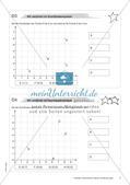 Koordinatensystem und Achsenspiegelung: Materialien in zwei Differenzierungsstufen Preview 7