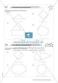 Koordinatensystem und Achsenspiegelung: Materialien in zwei Differenzierungsstufen Preview 9
