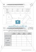 Längen, Umfang und Flächeninhalt: Materialien in zwei Differenzierungsstufen Preview 10
