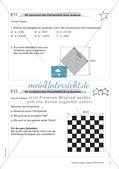 Längen, Umfang und Flächeninhalt: Materialien in zwei Differenzierungsstufen Preview 11