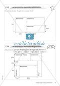 Längen, Umfang und Flächeninhalt: Materialien in zwei Differenzierungsstufen Preview 12